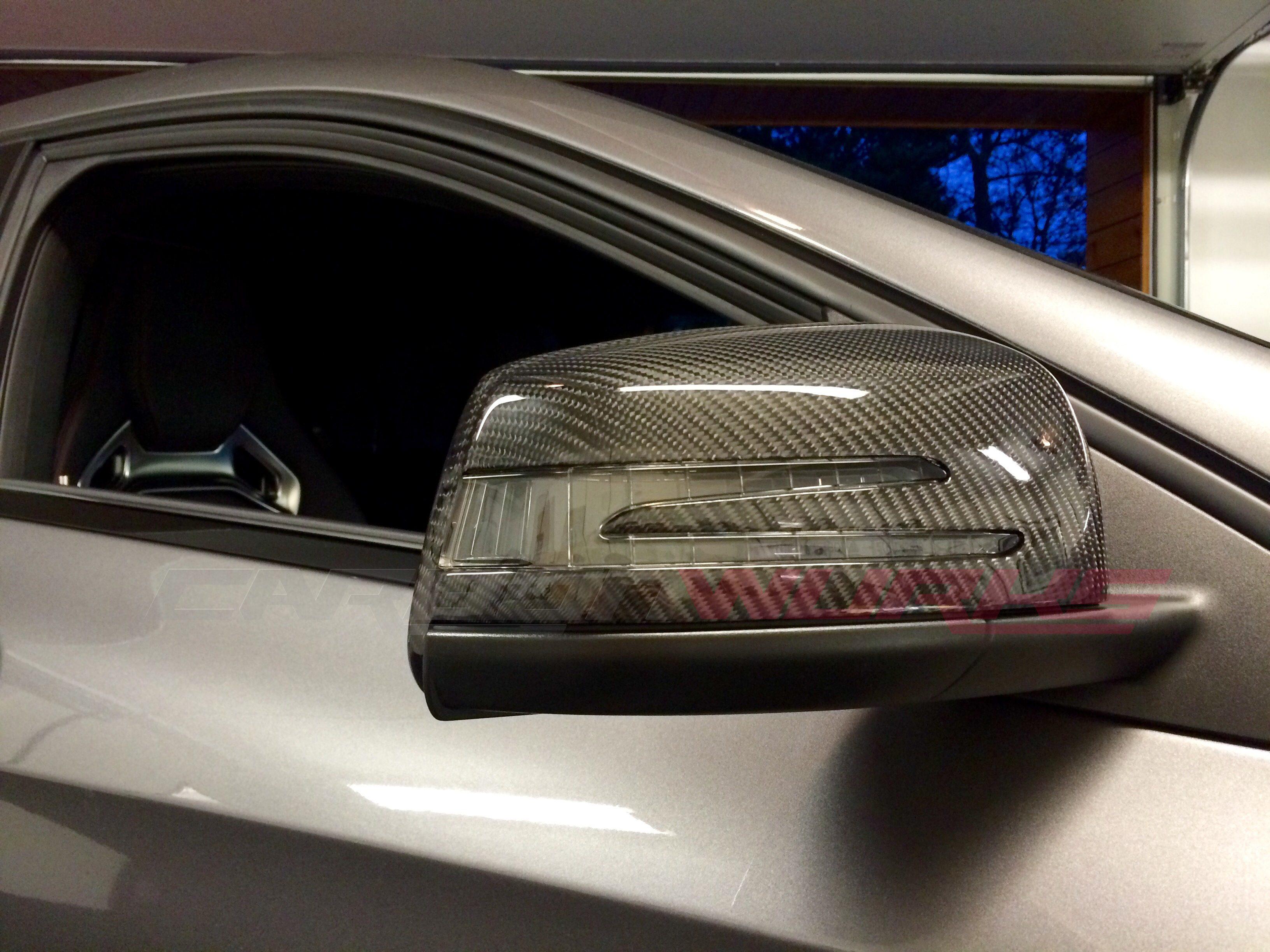 Carbonwurks custom carbon fibremercedes benz carbon fibre for Mercedes benz side mirror price
