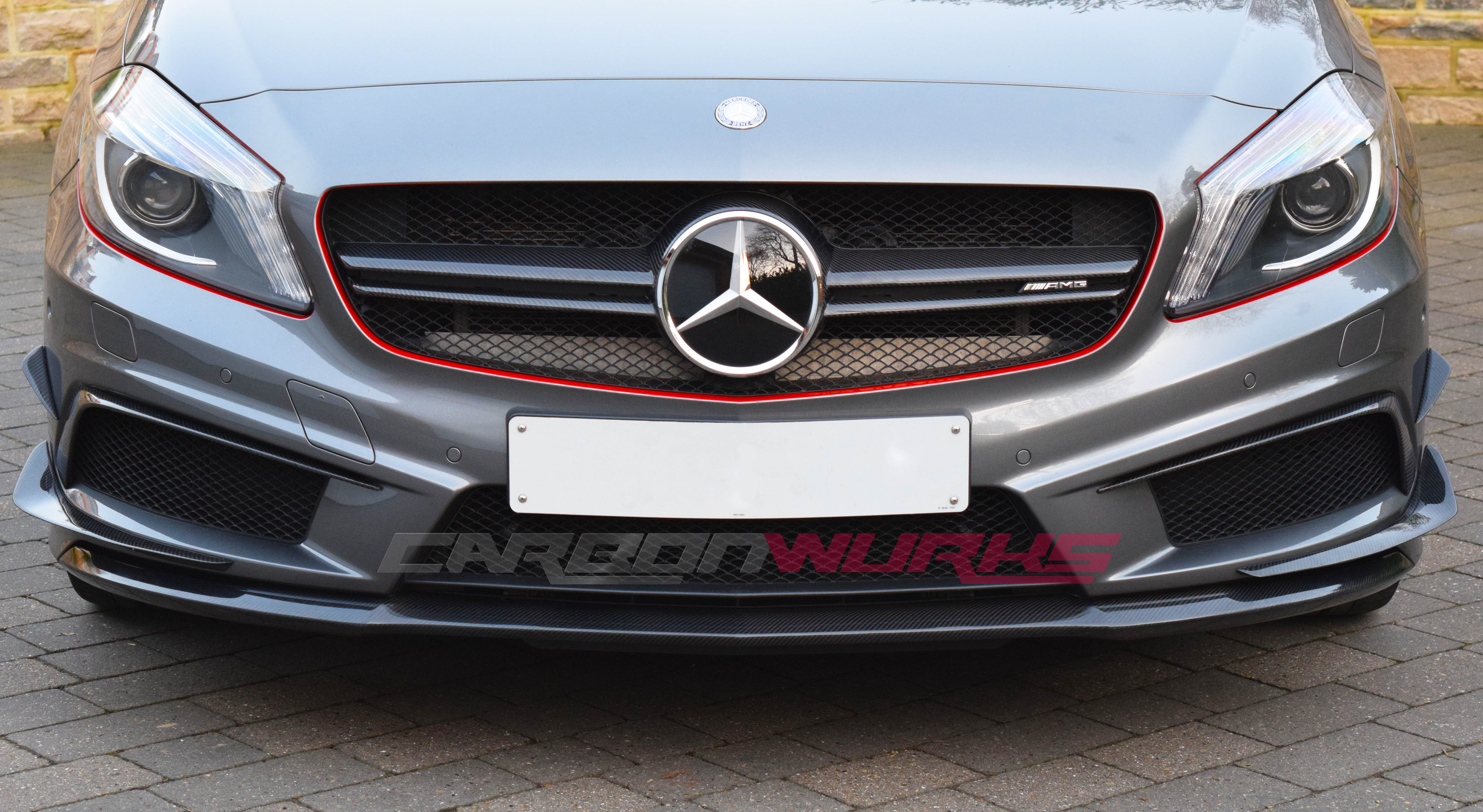 Carbonwurks custom carbon fibremercedes a45 amg carbon for Mercedes benz shop
