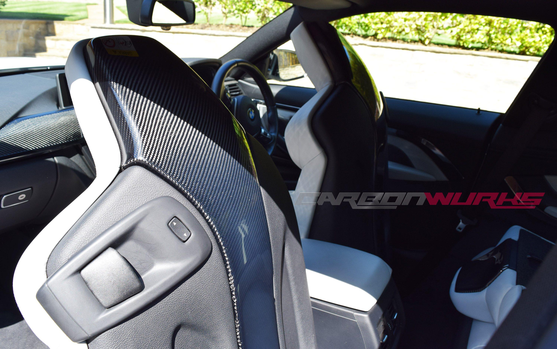 BMW M3 M4 Carbon Fibre Seat Back Covers