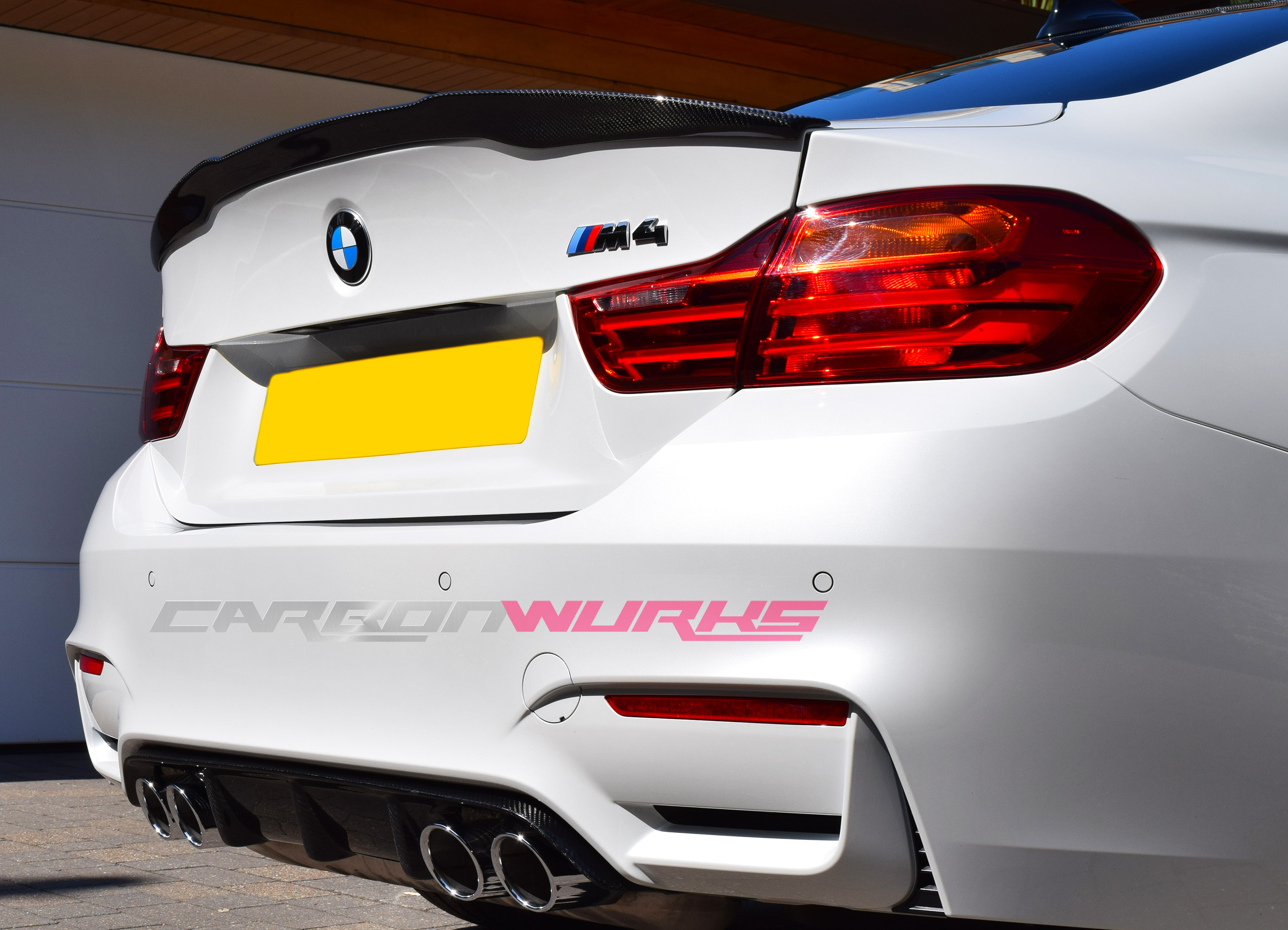 carbonwurks custom carbon fibrebmw m4 m performance coupe. Black Bedroom Furniture Sets. Home Design Ideas