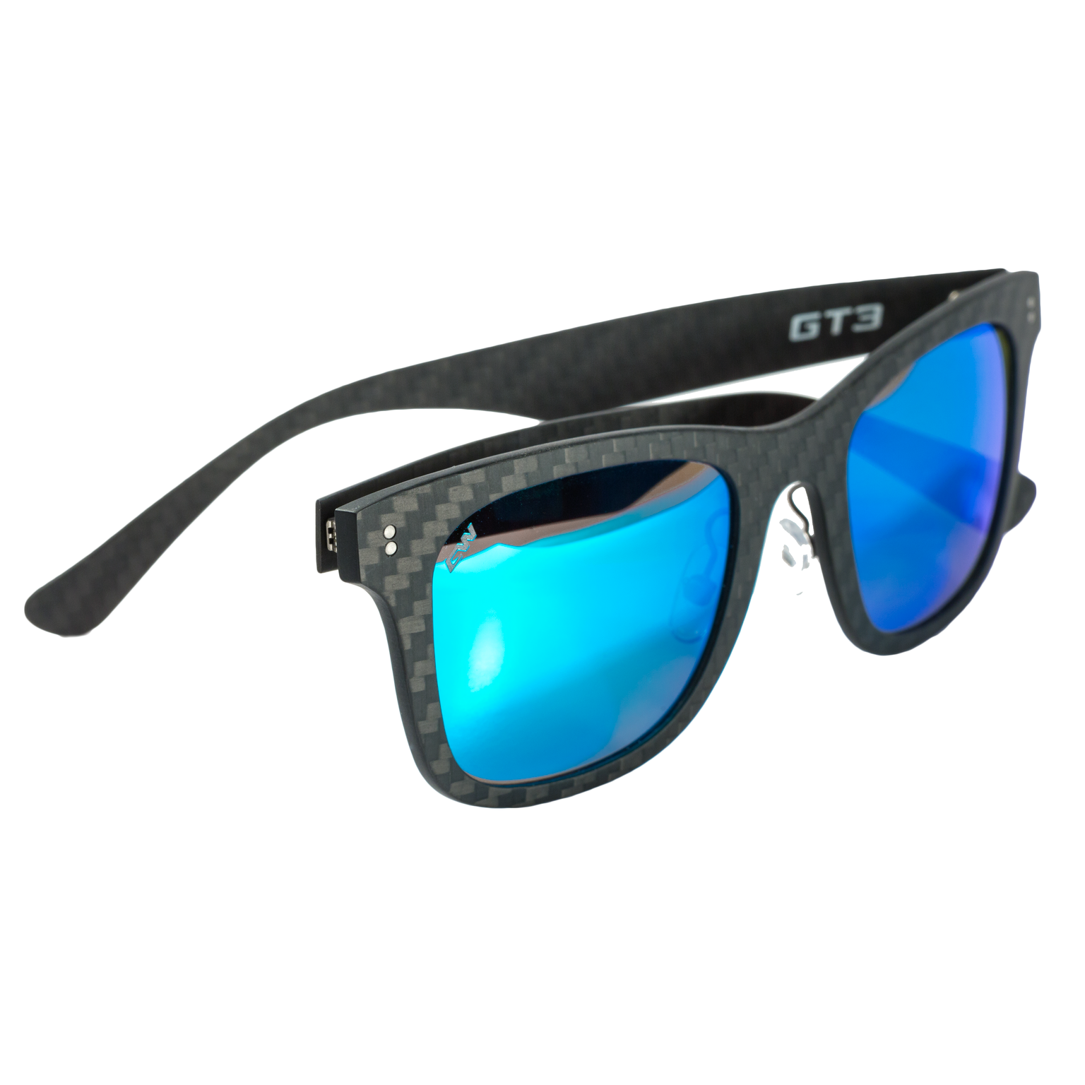0b4041bfec CarbonWurks Custom Carbon FibreGT2 sunglasses Sea Blue Mirror ...