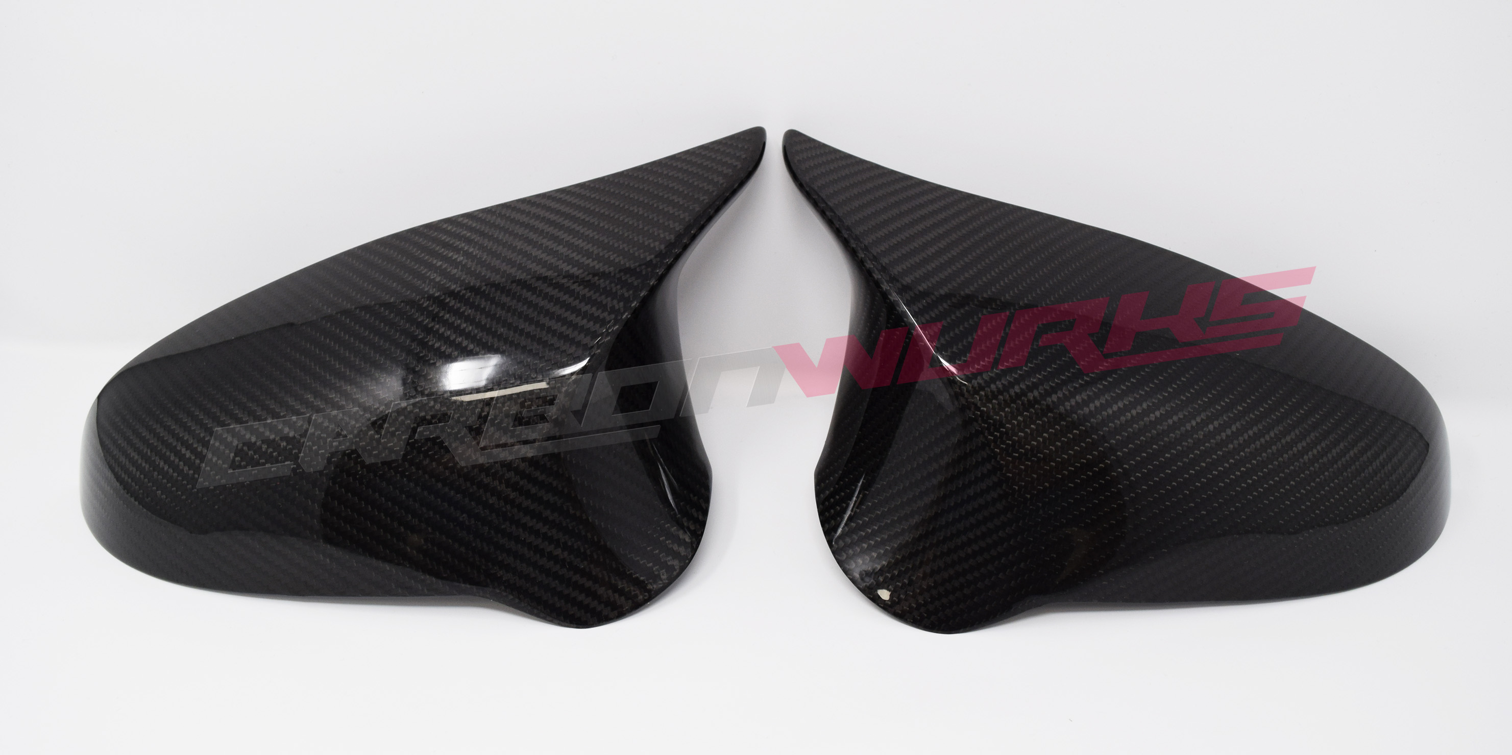 BMW M3/M4 Full Carbon Fibre Mirrors - Right Hand Drive