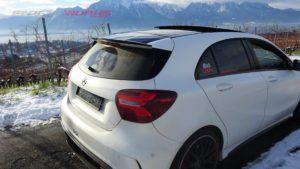 A Class Carbon Fibre Rear Spoiler Lip