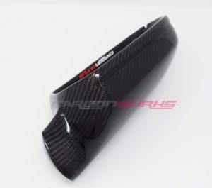 Audi A3 8P Gloss Carbon Fibre Mirrors - Without Lane Assist