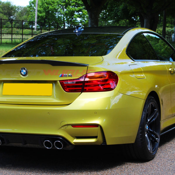 BMW M4 M Performance Coupe Carbon Fibre Rear Spoiler