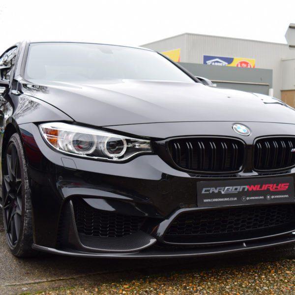 496fe149914 BMW M3/M4 M Performance Carbon Fibre Front Spoiler - CarbonWurks ...