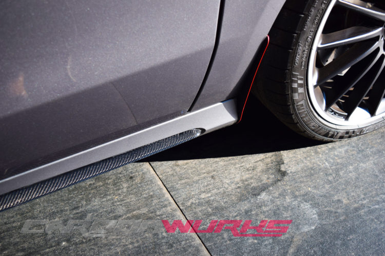 Mercedes Benz A45/CLA45 Class Carbon Fibre Side Skirt Insert