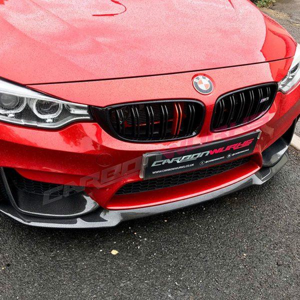 """BMW M3/4 """"CS"""" Carbon Front Spoiler"""