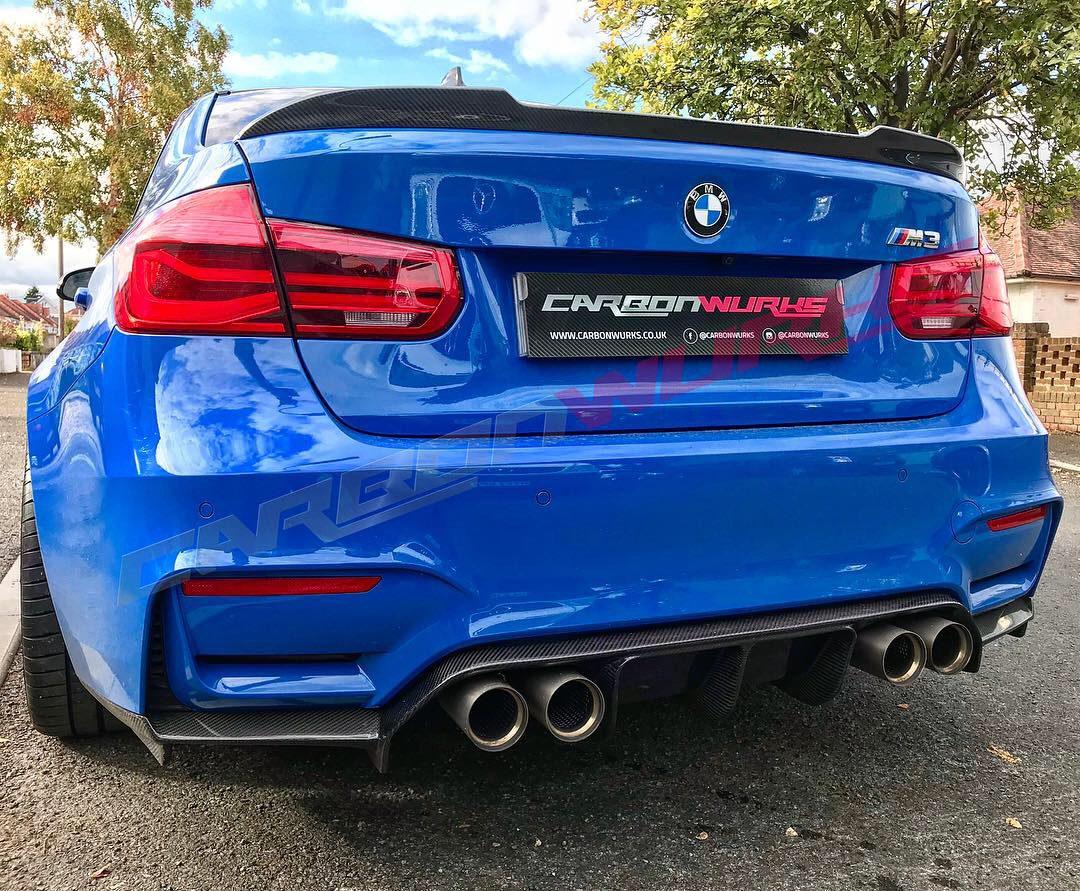 "BMW M3 ""CS"" Carbon Rear Boot Spoiler - CarbonWurks Custom ..."