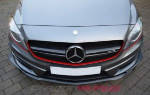 Mercedes A45 AMG Carbon Fibre Front Spoiler