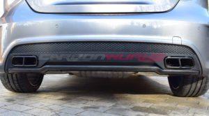 Mercedes Benz A45 AMG Carbon Fibre Rear Diffuser Lip Spoiler