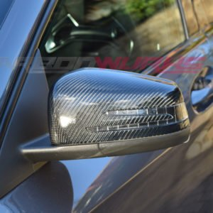 Mercedes Benz Gloss Carbon Fibre Mirrors