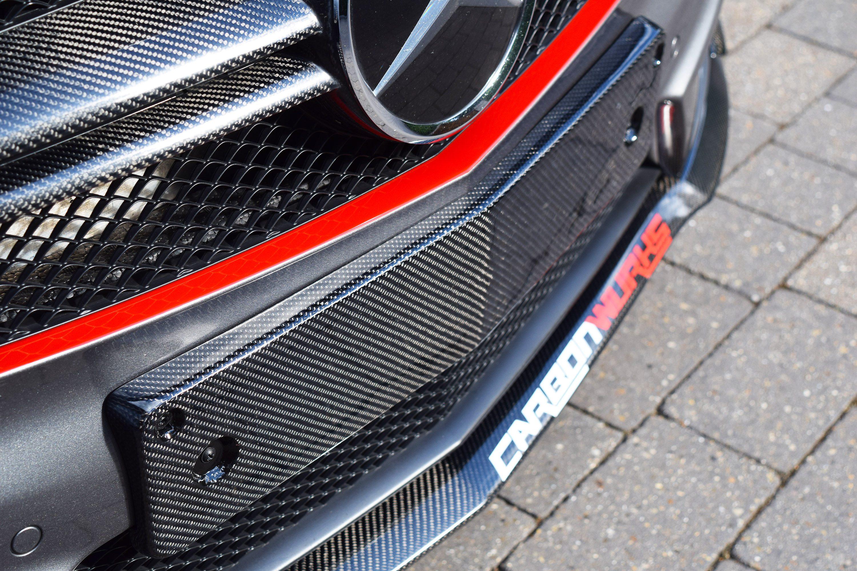 Mercedes A/CLA Carbon Fibre Number Plate Surround