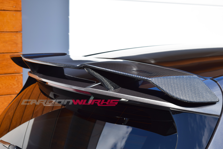 Mercedes A Class Carbon Fibre Boot Spoiler
