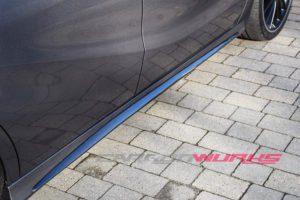 Mercedes Benz A45/CLA45 Class Carbon Fibre Side Skirt Insert