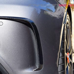 Mercedes A Class Carbon Fibre Rear Splash Guards