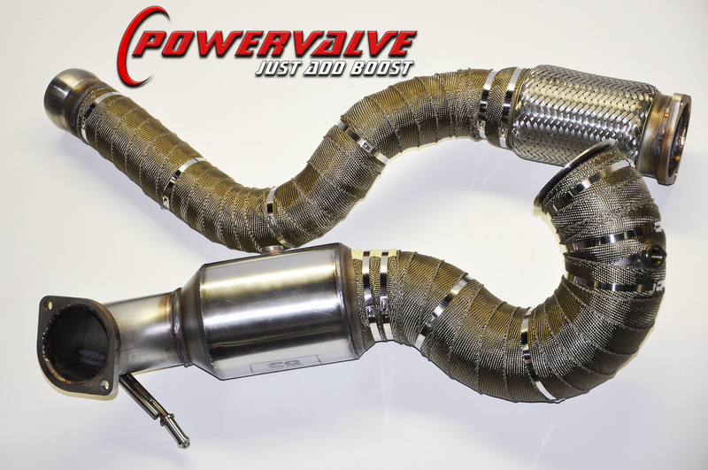 Mercedes A/CLA/GLA45 BCS Large Bore Downpipe - Full Decat