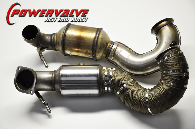Mercedes A/CLA/GLA45 BCS Large Bore Downpipe - With Sports Cat