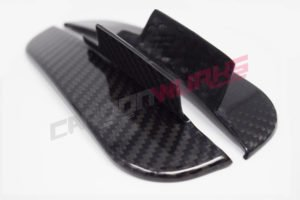 Mercedes A Class Carbon Fibre Rear Splash Guards