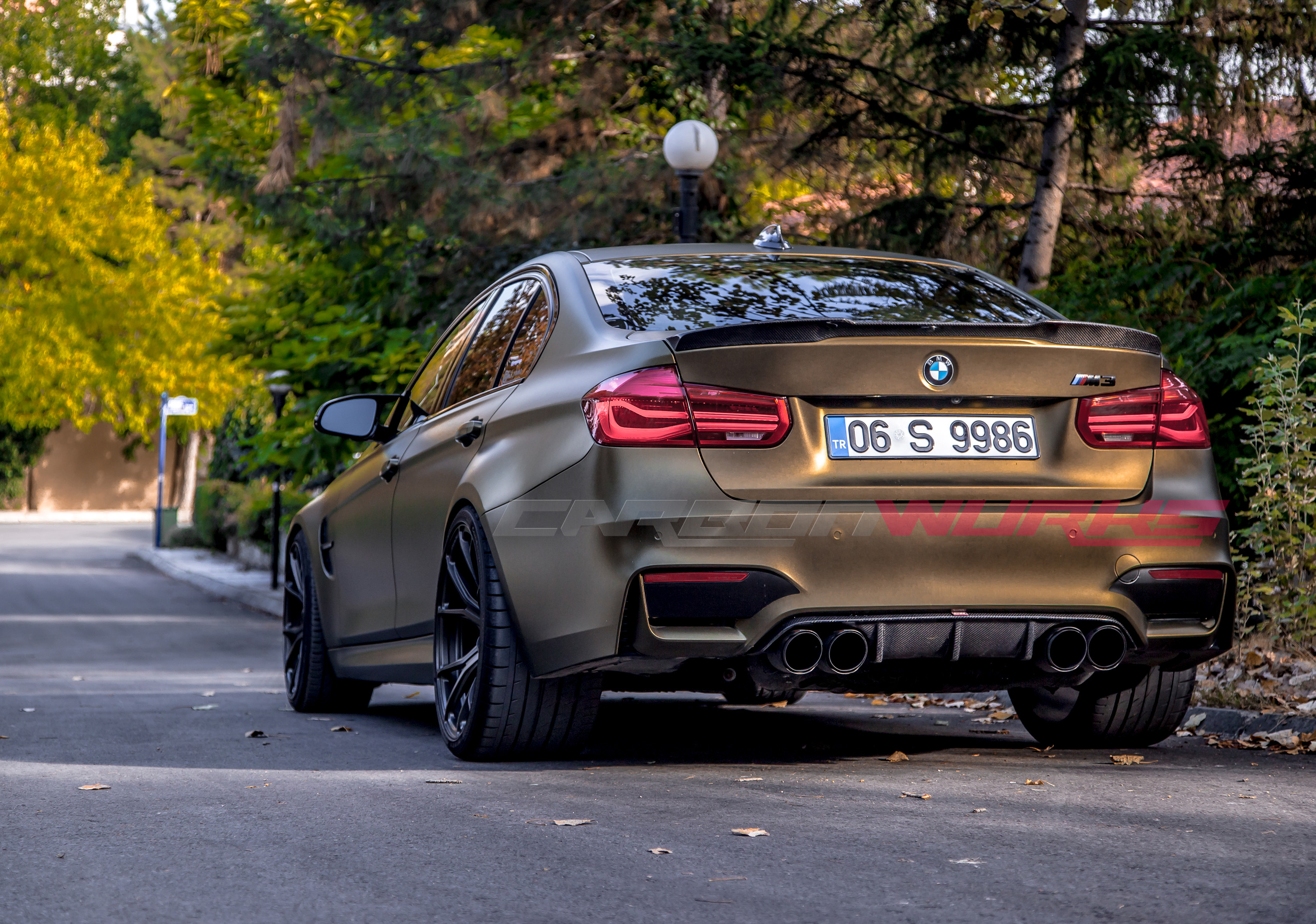 BMW M3/M4 M Performance Carbon Fibre Rear Diffuser