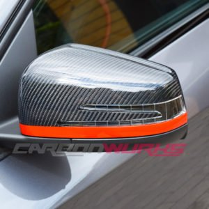 Mercedes Benz Edition 1 Gloss Carbon Fibre Mirrors