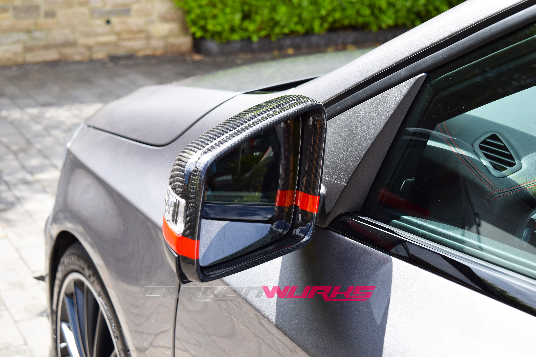 Mercedes Benz Edition 1 Gloss Carbon Fibre Mirrors
