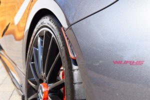 CLA Class Carbon Fibre Rear Splash Guards