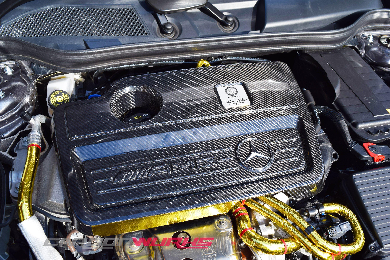 Mercedes A/CLA/GLA45 Carbon Fibre Engine Cover