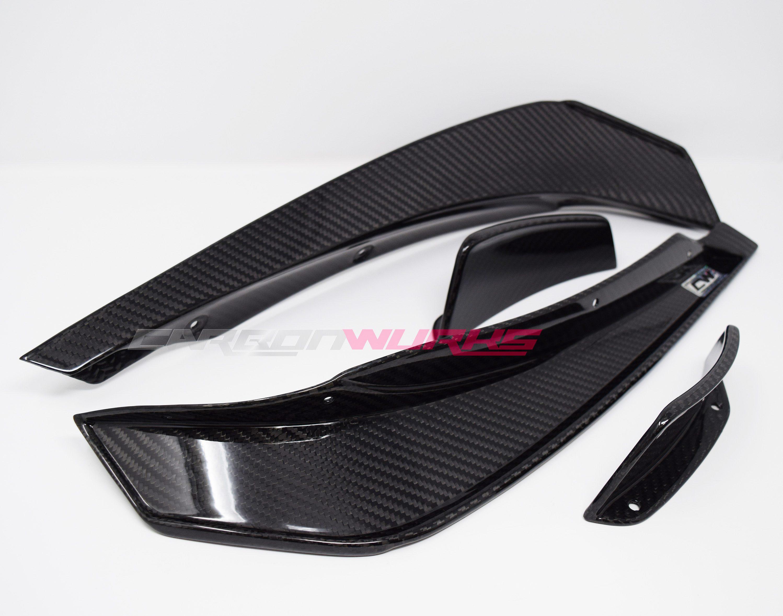 """Facelift A45 """"Black Series"""" Front Carbon Fibre Aero Pack"""