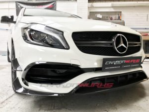 "Facelift A45 ""Black Series"" Front Carbon Fibre Aero Pack"