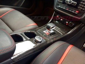Mercedes Benz Pre Facelift 45 A/CLA/GLA Carbon Fibre Centre Console