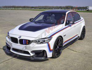 BMW M3/4 DTM Carbon Fibre Front Splitter