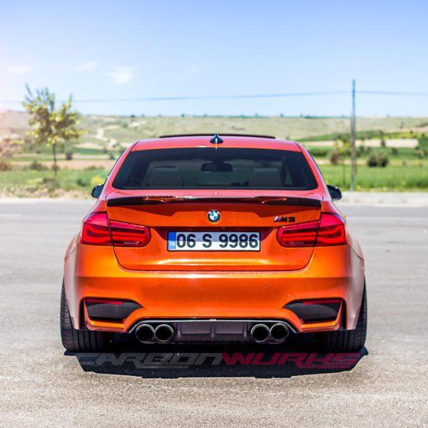 BMW M3 Carbon Fibre Rear Spoiler - CarbonWurks Custom ...