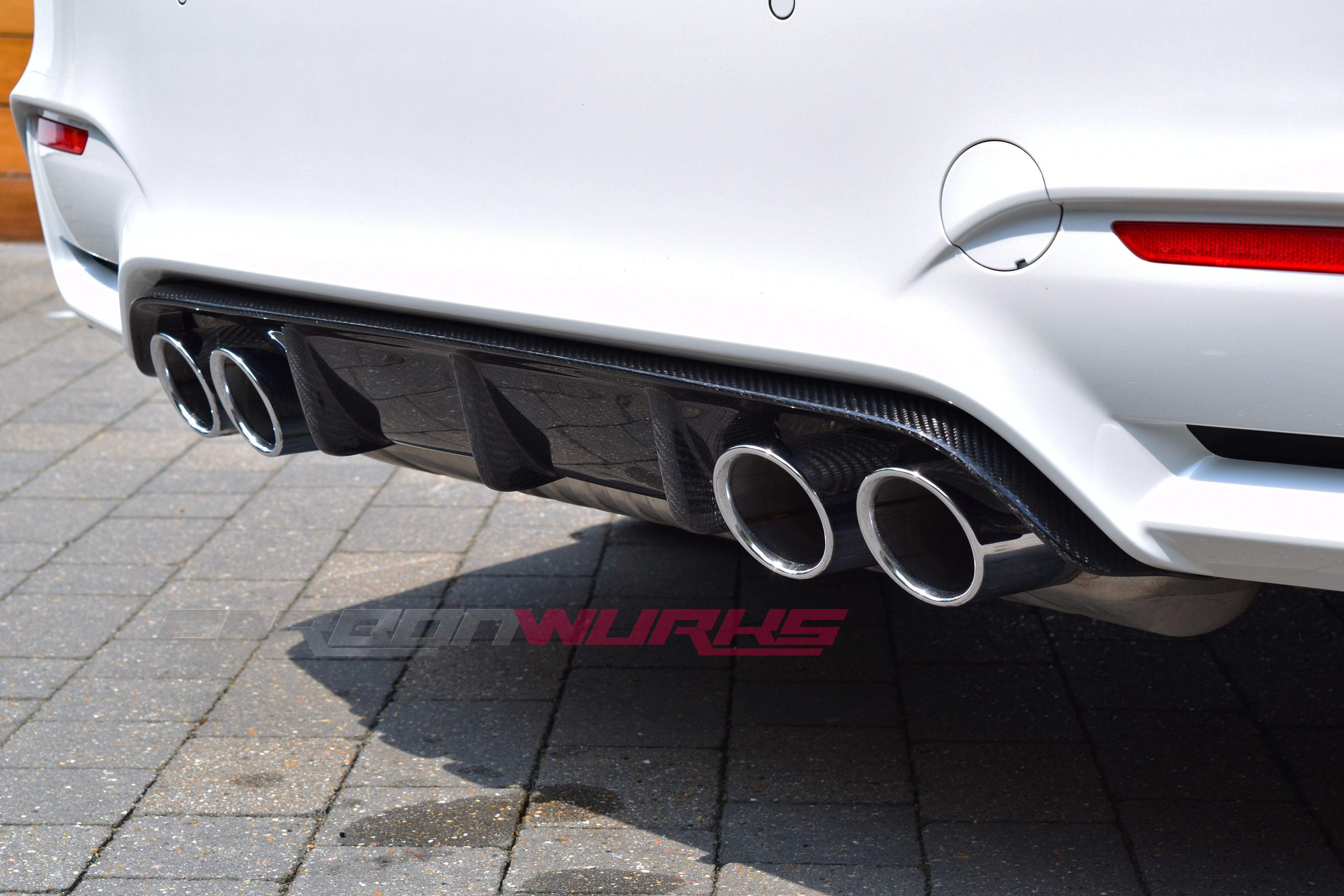 BMW M3/M4 M Performance Carbon Fibre Rear Diffuser