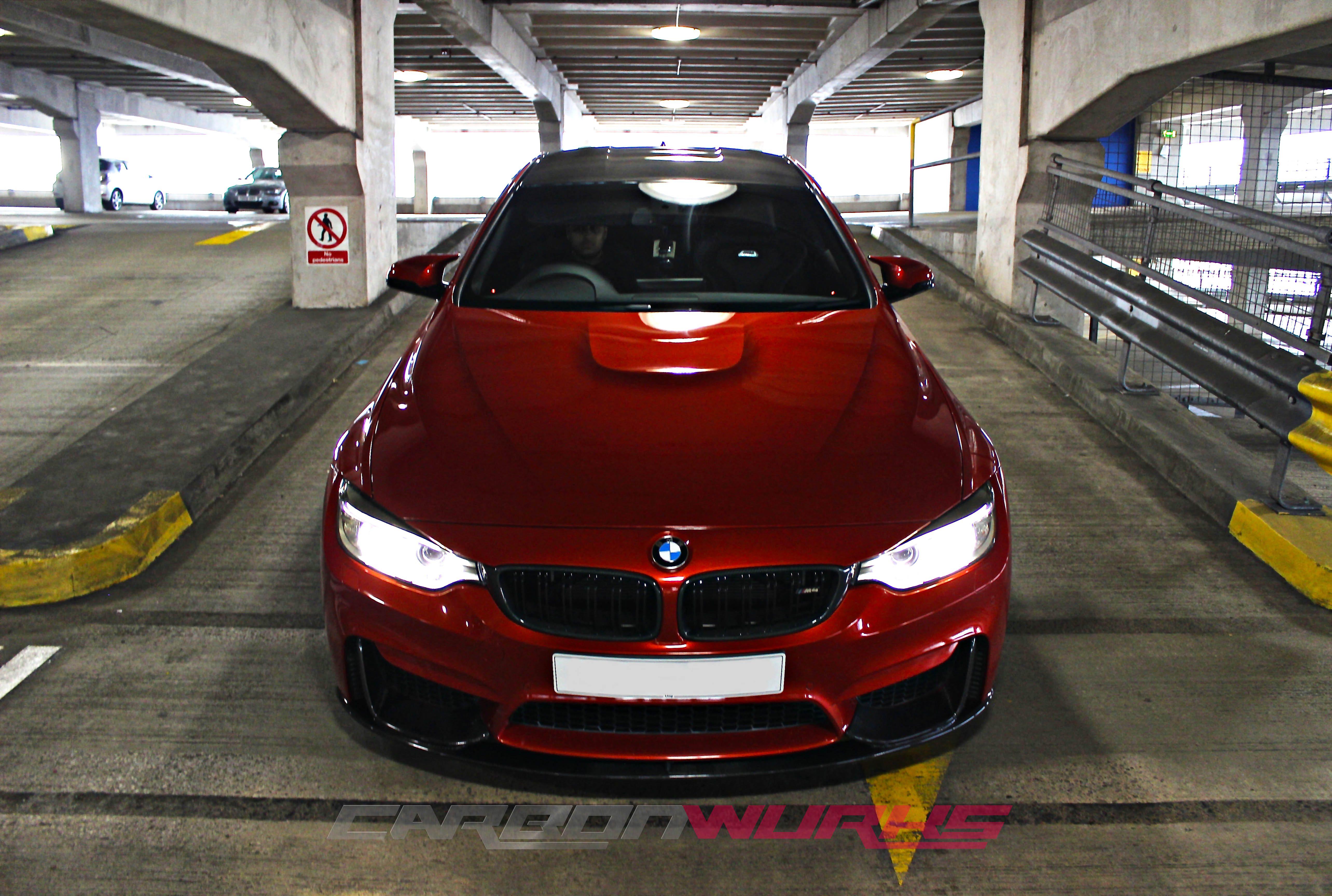 BMW M3/M4 M Performance Carbon Fibre Front Spoiler