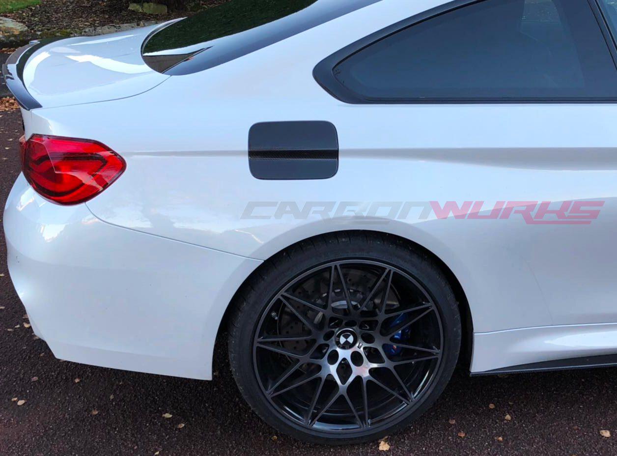BMW M4/4 Series Carbon Fibre Fuel Flap Cover