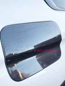 BMW M4/4 Series Carbon Fibre Fuel Flap Cover