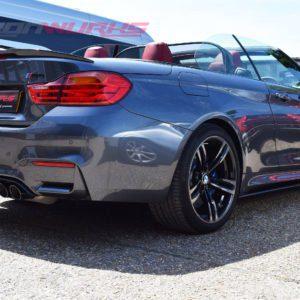 BMW M4 4 Series Convertible Carbon Fibre Rear Spoiler