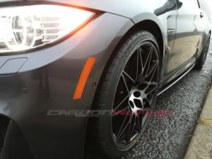 M3/4 US Spec Front Bumper Reflectors Retrofit Kit