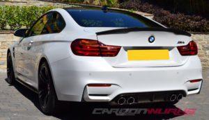 BMW M4 M Performance Coupe Carbon Fibre Rear Spoiler