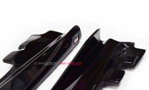 A/CLA Gloss Black Side Skirt Extensions