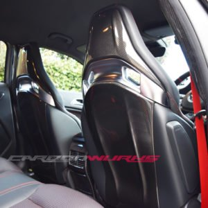 Mercedes Carbon Fibre Seat Back Covers