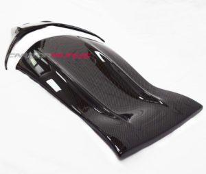 Mercedes Carbon Fibre Seat Back Covers