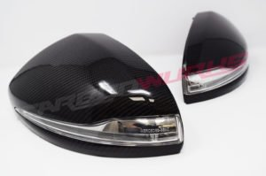 Mercedes Benz C,E,S,GLC Class Carbon Fibre Mirrors - Right Hand Drive