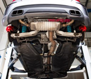 Mercedes A45/CLA45 Nitron R1 Fully Adjustable Coilover Suspension Kit