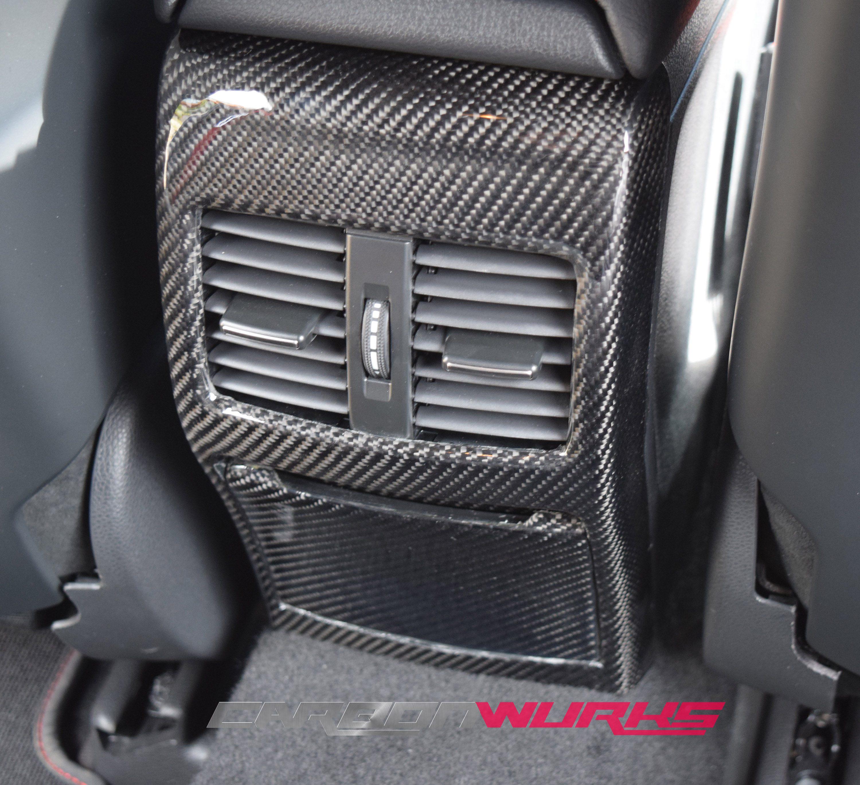 Mercedes Benz A/CLA/GLA Carbon Fibre Rear Console