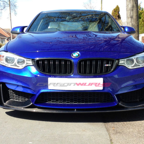 bmw m3 m4 m performance carbon fibre front spoiler. Black Bedroom Furniture Sets. Home Design Ideas