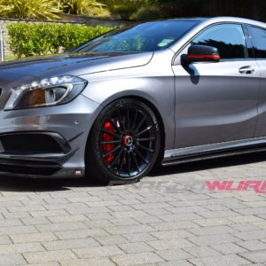 A/CLA Class Carbon Fibre Side Skirt Extensions