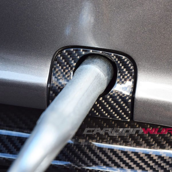 Mercedes A45 AMG Carbon Fibre Tow Hook Covers (Pre