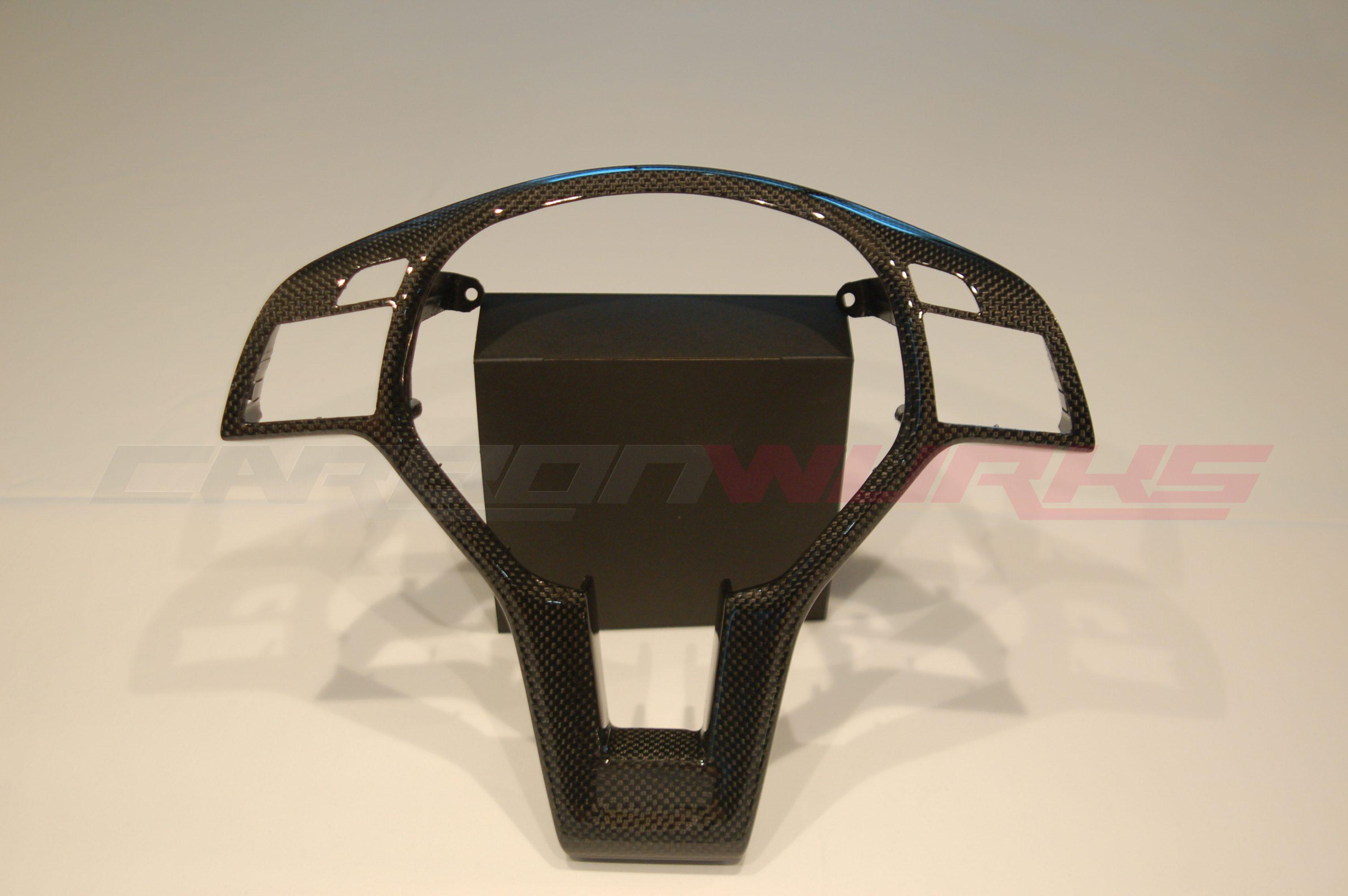 Mercedes Benz Carbon Fibre Steering Wheel Trim